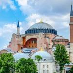 poza Hagia Sophia - Simbolul orașului Istanbul