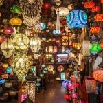 poza Marele Bazar din Istanbul - unul dintre cele mai vizitate locuri din lume