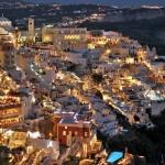 poza Viața de noapte în stațiunile din Insula Santorini