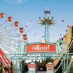 poza Allou Fun Park - unul dintre cele mai întinse și populare parcuri de distracție de pe teritoriul Greciei