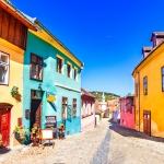 poza Sighișoara - un oraș ce și-a păstrat până astăzi farmecul medieval