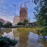 poza Sagrada Familia - cel mai interesat obiectiv turistic al Barcelonei