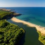 poza Plaja Veleka - una dintre cele mai frumoase plaje de pe litoralul Bulgariei
