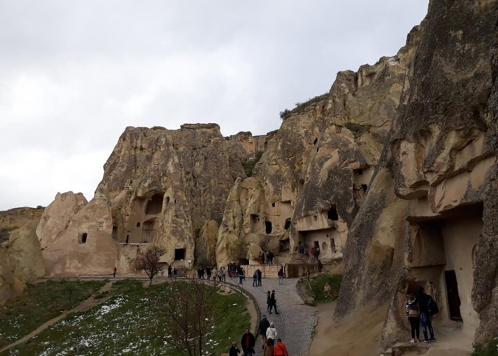 poza Capadocia - una dintre cele mai spectaculoase destinații de vacanță din Turcia