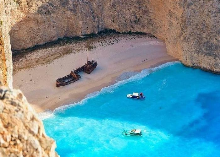 poza Zakynthos, cea mai însorită insulă a Greciei