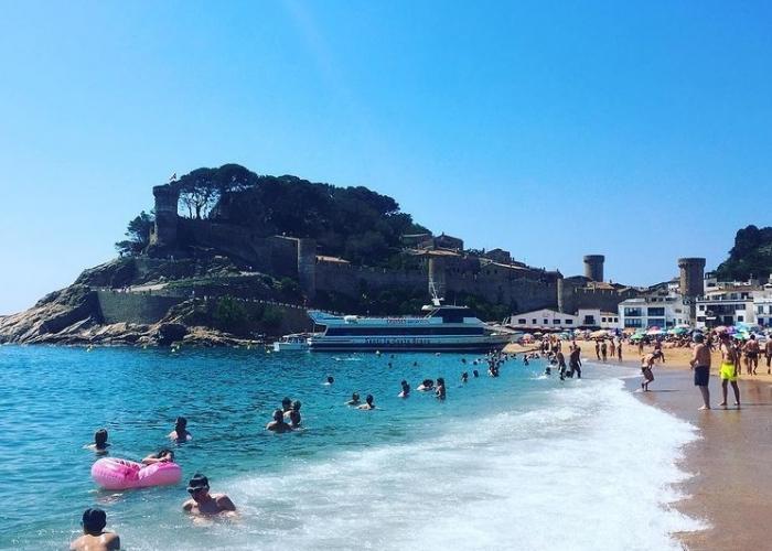 poza Sejur în Tossa de Mar: atracții turistice și plaje