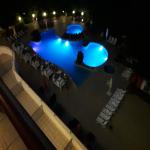 poza <p><i class='fa fa-plus-circle text-success'></i>Piscina Doubletree by Hilton,noaptea.</p>